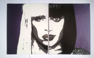 Lady Gaga And Jessie J Stencils