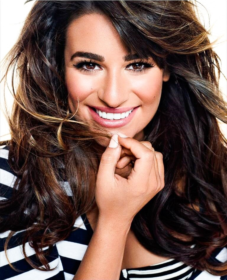 Lea Michele Images Lea Michele Brunette Ambition Hd Wallpaper And Background Photos