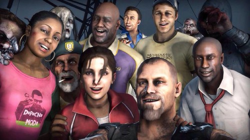left 4 dead 2 wallpaper entitled Left 4 Selfie