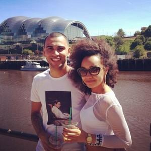 Leigh and Jordan today ❤