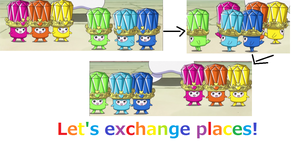 Let's exchange places!