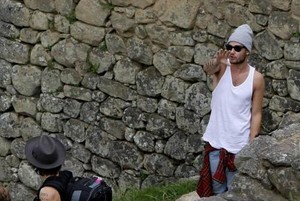 Liam and Harry - Machu picchu