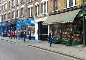 Literary Spots in Londres