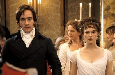 Pride and Prejudice wallpaper called Lizzie and Darcy