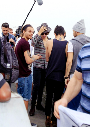 Louis, Hazza, Zayn and Liam (May 7th)