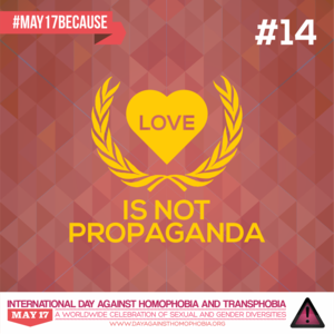 Love is not Propaganda