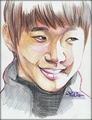 Lovely smile (Lee JunHo) - 2pm fan art