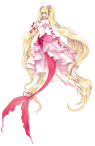 Mermaid Melody Hintergrund probably containing a bouquet and a rose entitled Luchia Nanami
