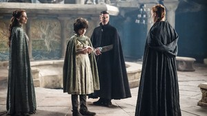 Lysa, Robin, Petyr and Sansa