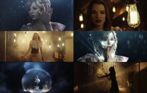 Lzzy Hale ft. Linsey Stirling - Shatter Me collage