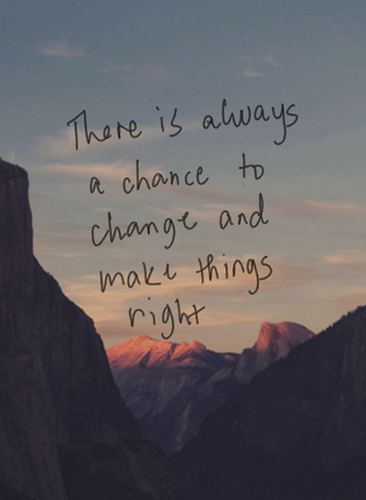 Quotes wallpaper possibly with a sunset titled Make Things Right