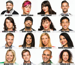Masterchef Canada - Season 1 - Contestants