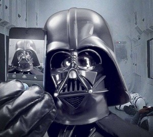 May the 4th be with आप - Darth Vader Selfie