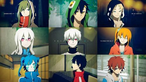 Mekaku City Actors wallpaper probably containing anime entitled Mekakuciy Actors