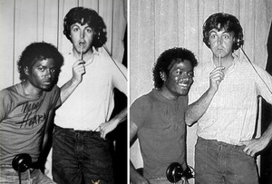 Michael And Paul McCartney