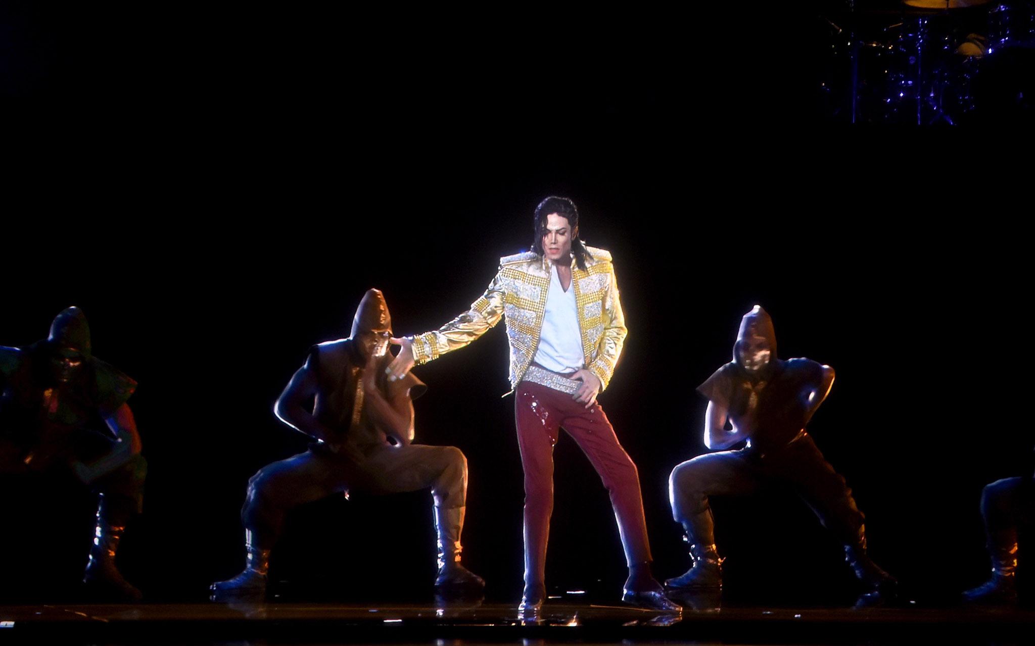 Michael Jackson Hologram Performance At The 2014 Billboard muziek Awards