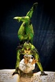 Michael Jackson immortal world tour contortion act