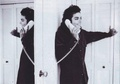 Michael Talking On The Phone - michael-jackson photo