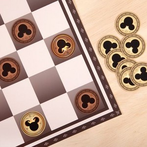 Mickey Mouse Checkers Set