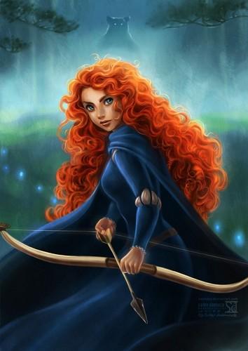 डिज़्नी वॉलपेपर entitled Miss Meridia