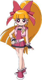 powerpuff girls Z wallpaper probably containing a lampshade entitled Momoko posted by eula2003
