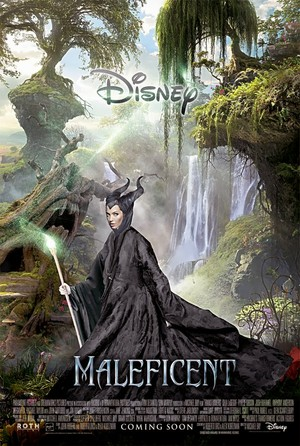 "Movie Poster For 2014 disney Film, ""Maleficent"""