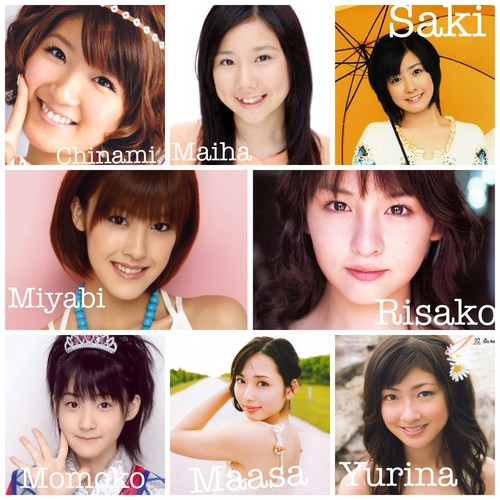 Jpop achtergrond containing a bearskin, a bridesmaid, and a portrait titled My Berryz Koubou picture collection 1.