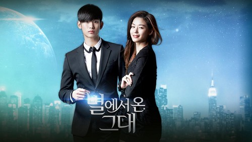 Drama Korea kertas dinding with a business suit and a well dressed person entitled My Cinta from Another bintang