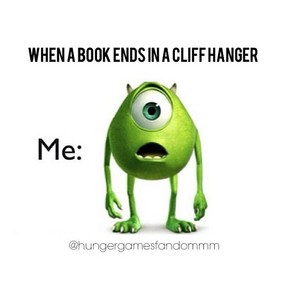 My face when I read books by Rick