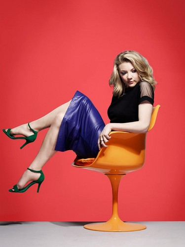 Natalie Dormer wallpaper probably containing bare legs, hosiery, and tights called Natalie Dormer - BAFTA Portraits