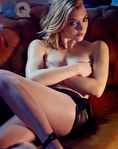 natalie dormer fondo de pantalla containing skin entitled Natalie Dormer for GQ Magazine// April 2014