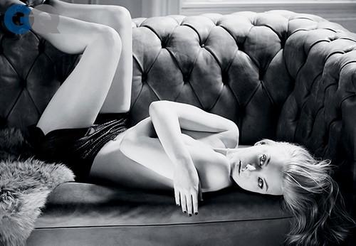 natalie dormer fondo de pantalla containing a living room and a family room titled Natalie Dormer for GQ Magazine// April 2014