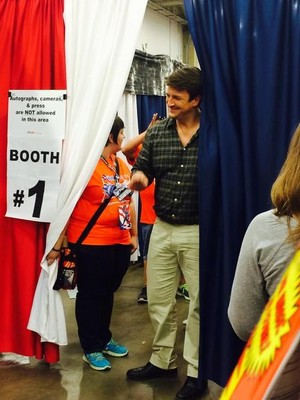 Nathan at the Comi Con(May,2014)