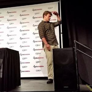 Nathan at the Comic Con(May,2014)