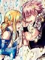 Natsu and Lucy(NaLu!<3) - anime fan art