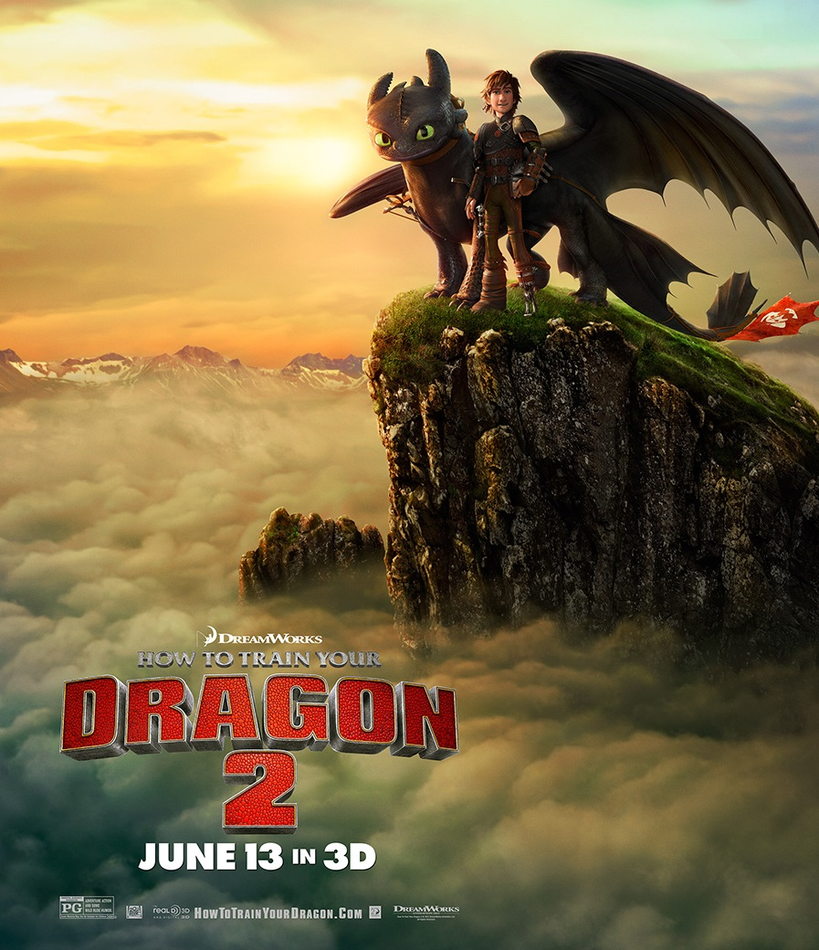 New How To Train Your Dragon 2 Poster - How to Train Your ...