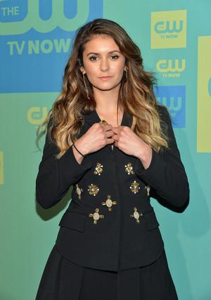 Nina @ The CW Upfronts (May 15th, 2014)