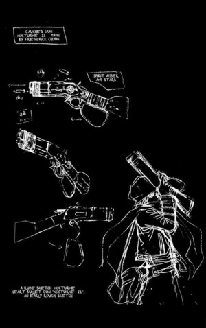 Nocturne 12, Gauche Suede hart-, hart Bullet Gun