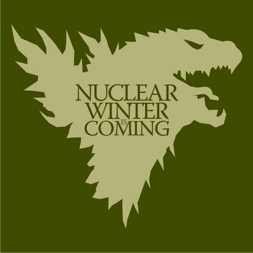 Godzilla wallpaper entitled Nuclear Winter is Coming