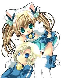 Nyaa!~ Karin and Kazune