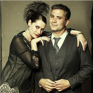 Paget Brewster and Mark Gagliardi