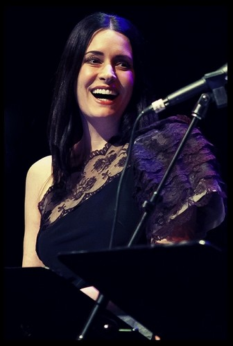 Paget Brewster wallpaper with a concerto titled Paget at SF Sketchfest