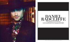Paper Mag Cover's Daniel Radcliffe (Fb.com/DanieljacobRadcliffeFanClub)