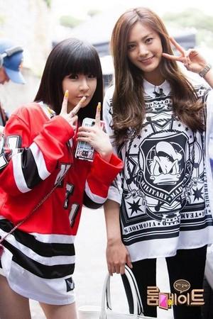 Park Bom with Nana 'Roommate'