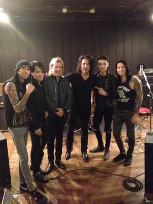 Paul Stanely and Black Veil Brides