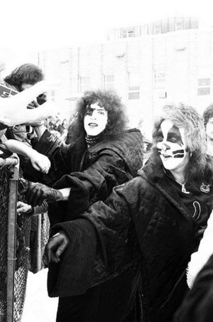 Paul Stanley and Peter Criss
