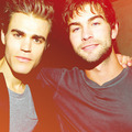 Paul and Chace - chace-crawford photo