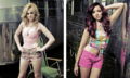 Perrie and Jade Fabulous Magazine