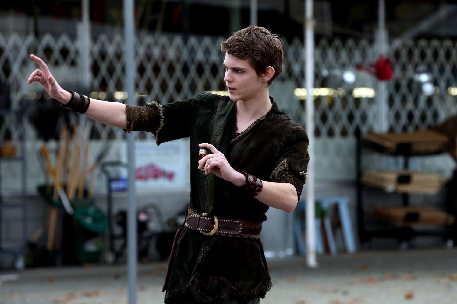 Who Plays Peter Pan In Once Upon A Time