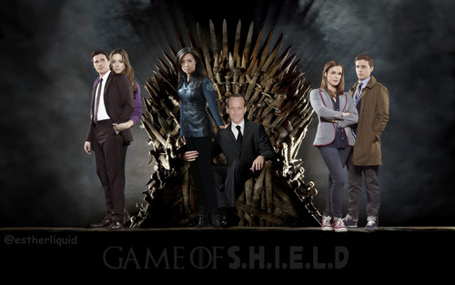 Phil Coulson & Melinda May wallpaper containing a business suit titled Philinda SkyeWard FitzSimmons - Games of Thrones Style FanArt